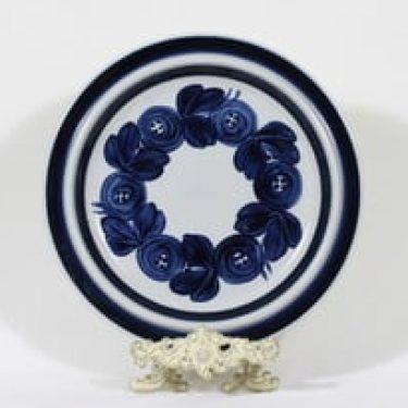 Arabia Anemone vati, käsinmaalattu, suunnittelija Ulla Procope, käsinmaalattu, signeerattu, retro