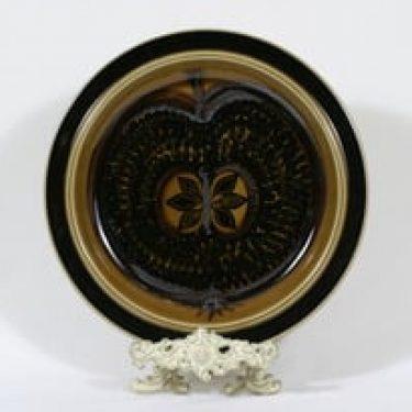 Arabia Fructus vati, käsinmaalattu, suunnittelija Gunvor Olin-Grönqvist, käsinmaalattu, signeerattu, retro