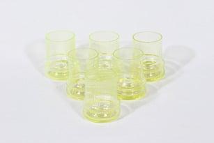 Riihimäen lasi Sulttaani lasit, 8 cl, 6 kpl, suunnittelija Nanny Still, 8 cl