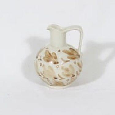Arabia KE-C kaadin, kukkakuvio, suunnittelija Kurt Ekholm, kukkakuvio, pieni, käsinmaalattu