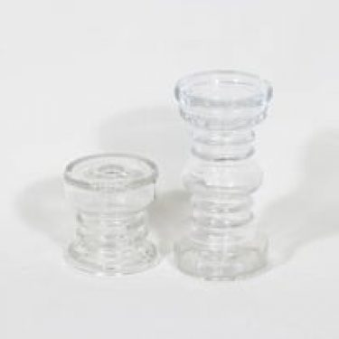 Riihimäen lasi Carmen kääntömaljakot, eri kokoja, 2 kpl, suunnittelija Tamara Aladin, eri kokoja