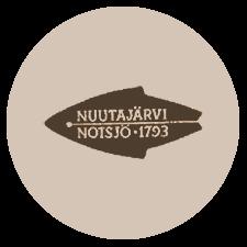Nuutajärven lasin leimamerkintä: Nuutajärvi Notsjö 1793