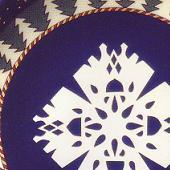 Arabia koristekuvio Snow Crystal