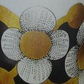 Arabia koristekuvio Kultapallo
