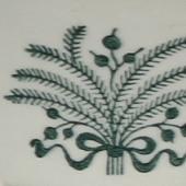 Arabia koristekuvio Vihreä lehvä