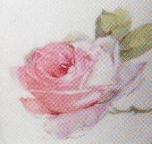 Arabia koristekuvio Jugend-ruusu