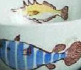 Arabia koristekuvio Aquarium