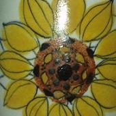Arabia koristekuvio Aurinkoruusu