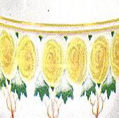 Arabia koristekuvio Keltaruusuja