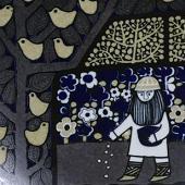Arabia koristekuvio Vuosilautanen