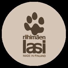 Riihimäen lasin leimamerkintä, Riihimäen lasi made in Finland