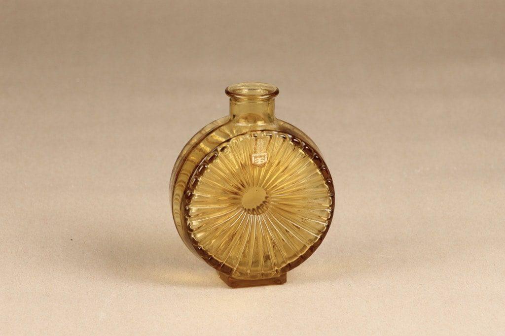 Riihimäen lasi Aurinkopullo koristepullo, ¼, suunnittelija Helena Tynell, ¼, pieni