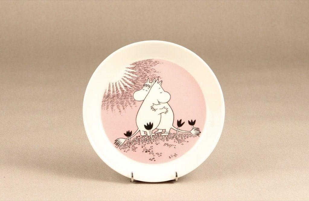 Arabia Rakkaus lautanen, suunnittelija Tove Slotte, serikuva, käyttämätön