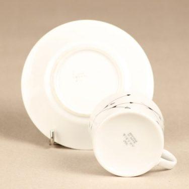 Arabia Nuoli mocha cup, white, Esteri Tomula, 2