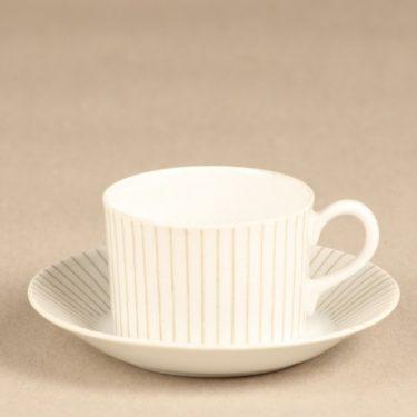 Arabia TH mocha cup, white, Kaj Franck
