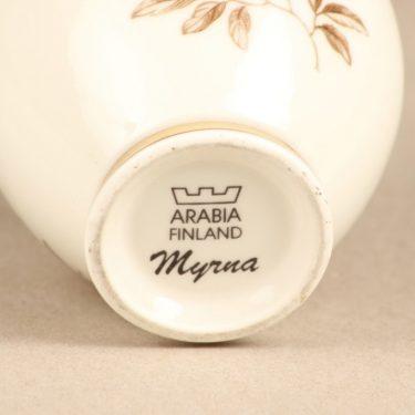 Arabia Myrna maljakko, suunnittelija Olga Osol, serikuva kuva 2