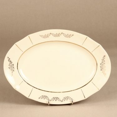 Arabia Irja platter, oval, silk screening
