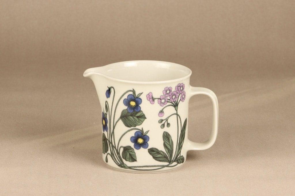Arabia Flora kaadin, 1 l, suunnittelija Esteri Tomula, 1 l, kukka-aihe, serikuva, retro