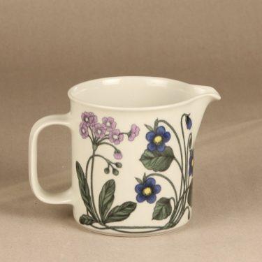 Arabia Flora kaadin, 1 l, suunnittelija Esteri Tomula, 1 l, kukka-aihe, serikuva, retro kuva 2