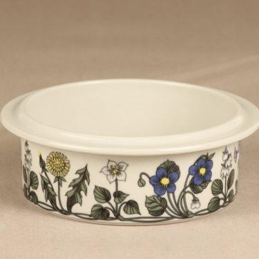 Arabia Flora bowl, designer Esteri Tomula, silk screening