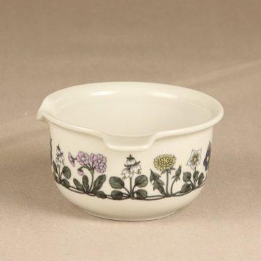 Arabia Flora kastikekaadin, suunnittelija Esteri Tomula, serikuva, kukka-aihe kuva 2
