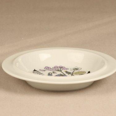 Arabia Flora lautanen, syvä, suunnittelija Esteri Tomula, syvä, serikuva kuva 2