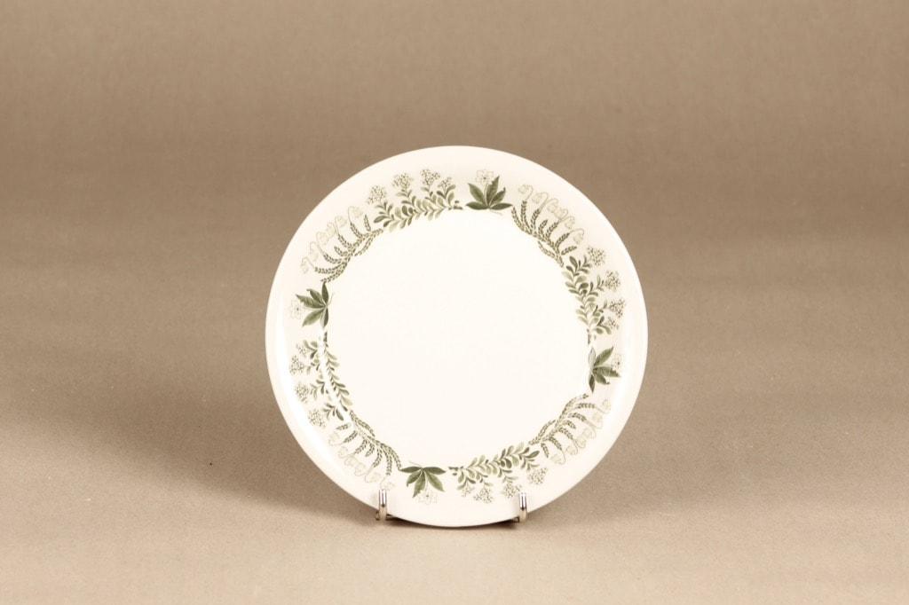 Arabia Polaris dinner plate, Raija Uosikkinen