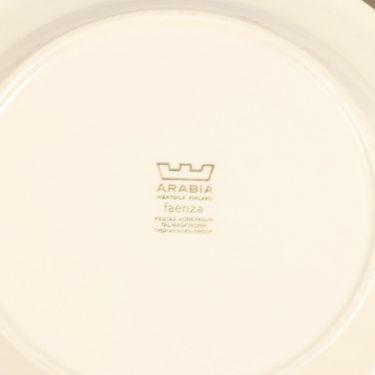 Arabia Faenza lautanen, ruskea, suunnittelija Inkeri Seppälä, serikuva kuva 2