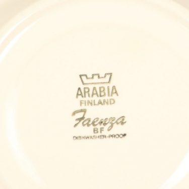 Arabia Faenza teekuppi, ruskea, suunnittelija Esteri Tomula, serikuva kuva 2