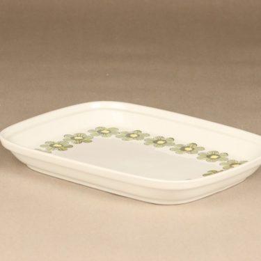 Arabia Primavera vati, vihreä, suunnittelija Esteri Tomula, serikuva, kukka-aihe kuva 2