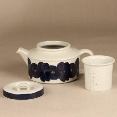 Arabia Anemone teekannu, käsinmaalattu, suunnittelija Ulla Procope, käsinmaalattu kuva 2