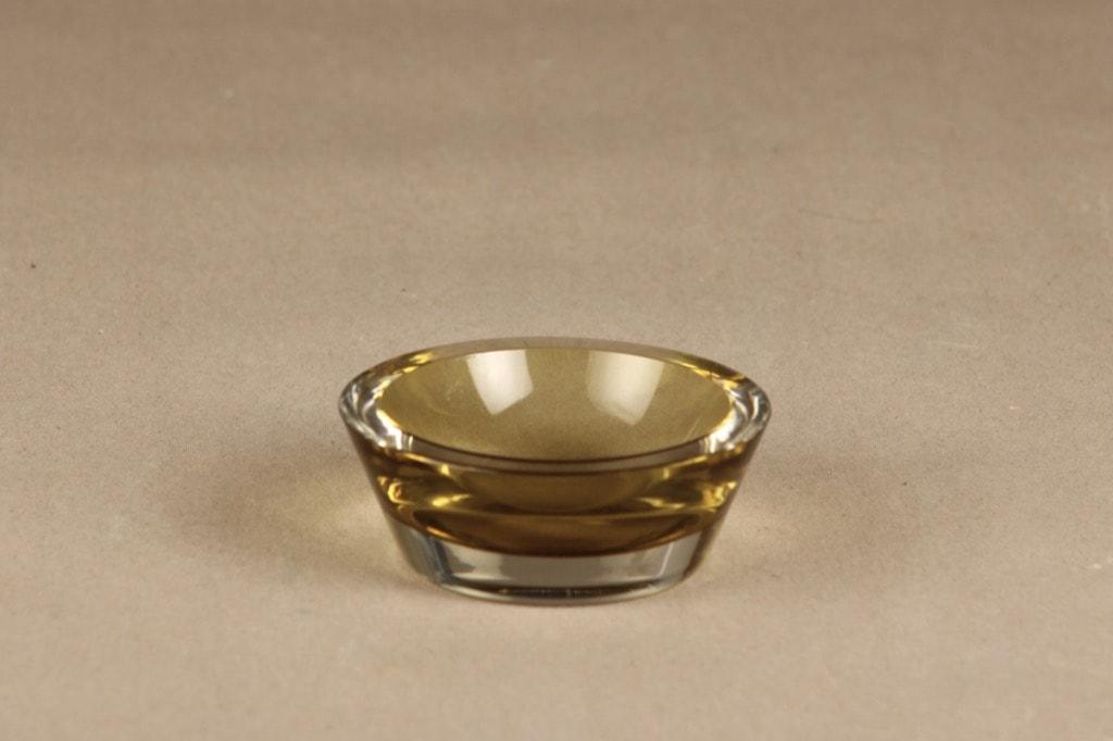 Nuutajärvi art glass, small, designer Saara Hopea, signed