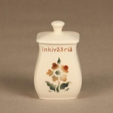 Arabia EB1 spice jar, ginger, small, blown decoration