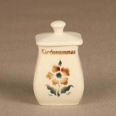 Arabia EB1 spice jar, cardamom, small, blown decoration