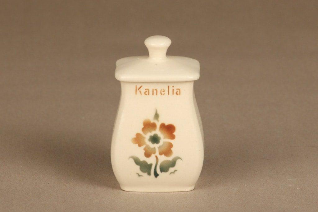 Arabia EB1 maustepurkki, Kanelia, suunnittelija , Kanelia, pieni, puhalluskoriste