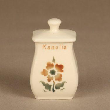 Arabia EB1 spice jar, cinnamon, small, blown decoration