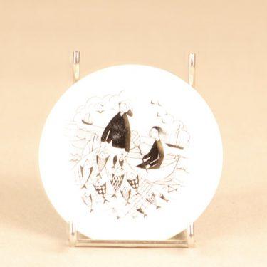Arabia Harraste koristelautanen, pieni, suunnittelija , pieni, kuparipainokoriste