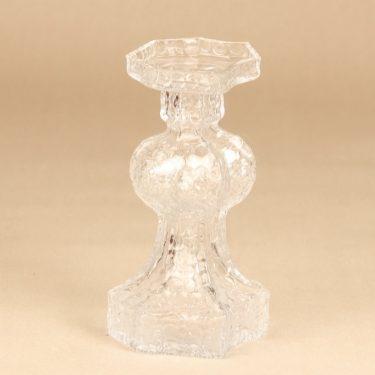 Riihimäen lasi Candida maljakko, kirkas, suunnittelija Nanny Still, retro