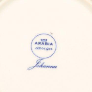 Arabia Johanna kahvikuppi, sininen, suunnittelija Raija Uosikkinen, serikuva kuva 2