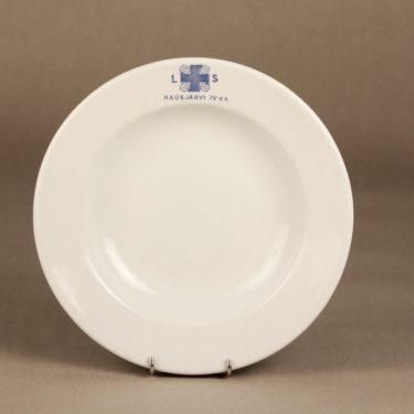 Arabia Lotta Svärd lautanen, valkoinen, suunnittelija ,