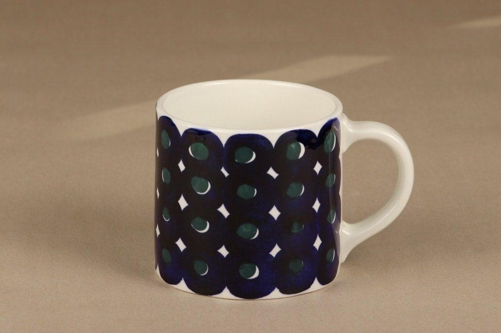 Arabia Haarikka mug, 50 cl, designer Gunvor Olin-Gronqvist, hand-painted, signed