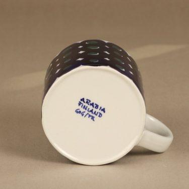 Arabia Haarikka mug, 50 cl, designer Gunvor Olin-Gronqvist, hand-painted, signed, 3