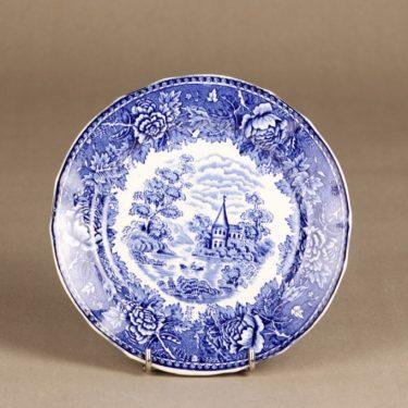 Arabia Maisema lautanen, sininen, suunnittelija , kuparipainokoriste