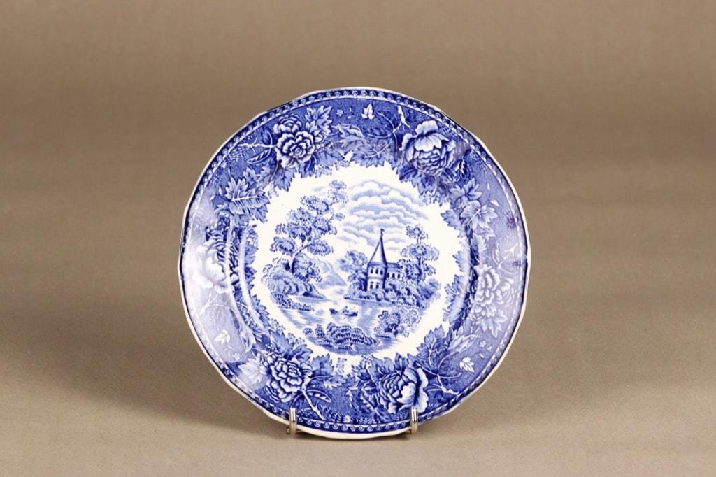 Arabia Maisema plate, blue