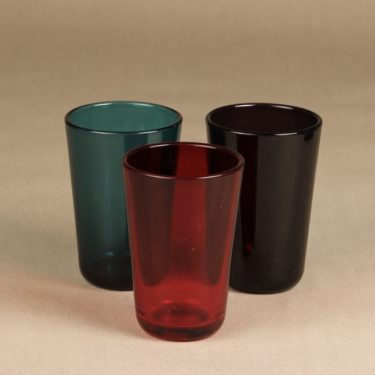 Nuutajärvi 5023 lasit, 35 cl, 3 kpl, suunnittelija Kaj Franck, 35 cl