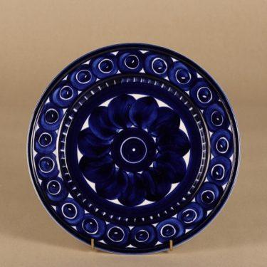 Arabia Valencia lautanen, suunnittelija Ulla Procope, käsinmaalattu, signeerattu