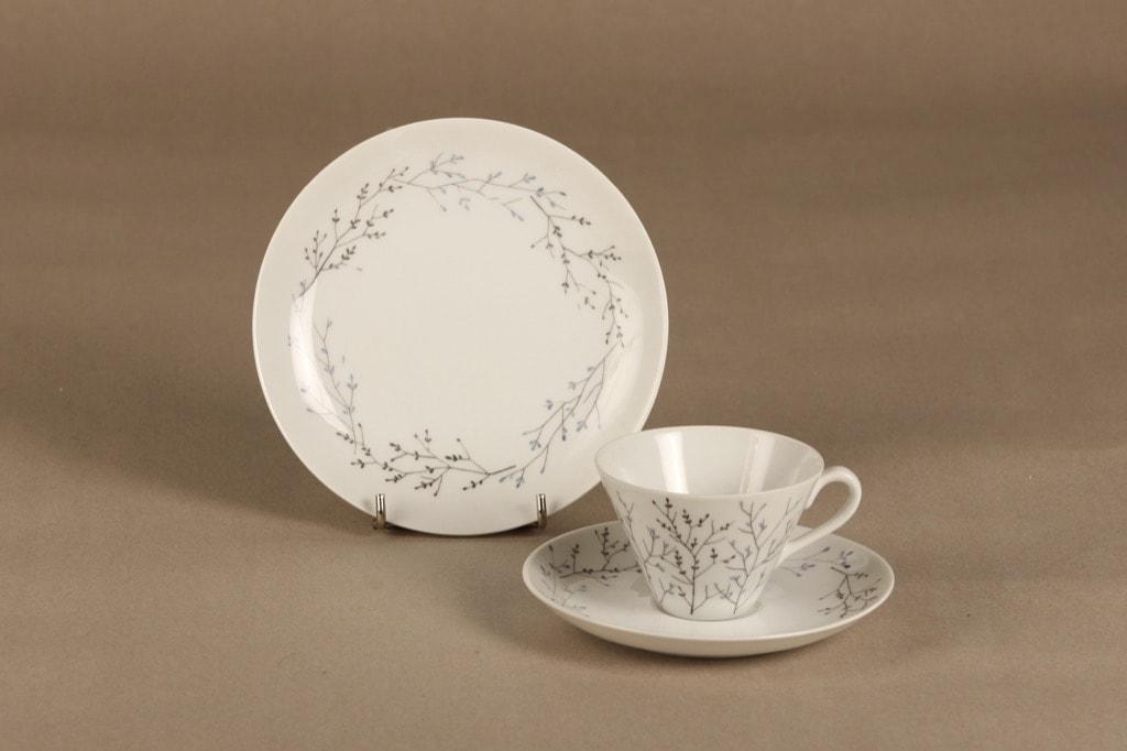 Arabia Oksa coffee cups 3 pcs  designer Gunvor Olin