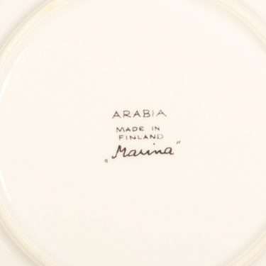 Arabia Marina II kahvikuppi ja lautaset, sinivihreä, suunnittelija Anja Jaatinen-Winquist, serikuva kuva 3