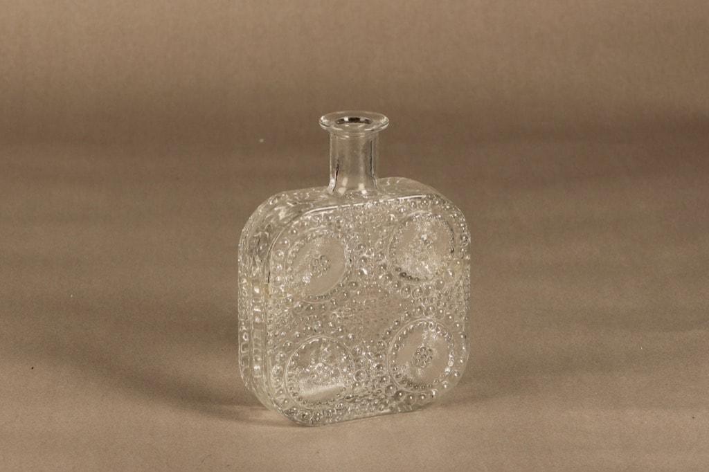 Riihimäen Lasi Grapponia bottle clear design Nanny Still,