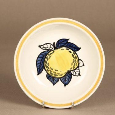 Arabia lautanen, syvä, suunnittelija , syvä, käsinmaalattu